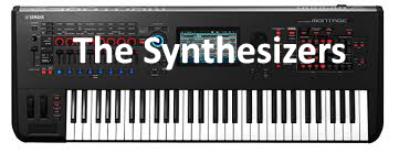 THE SYNTHESIZERS Performing 11.17.17 <br> Open for guitar, keys, drums