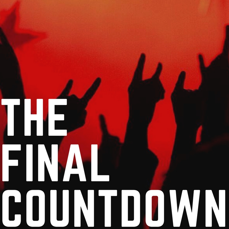 THE FINAL COUNTDOWN - <font style=&#34;text-transform: capitalize;&#34;>Open for vocals, guitar, bass, keys, harp and horn! </font>