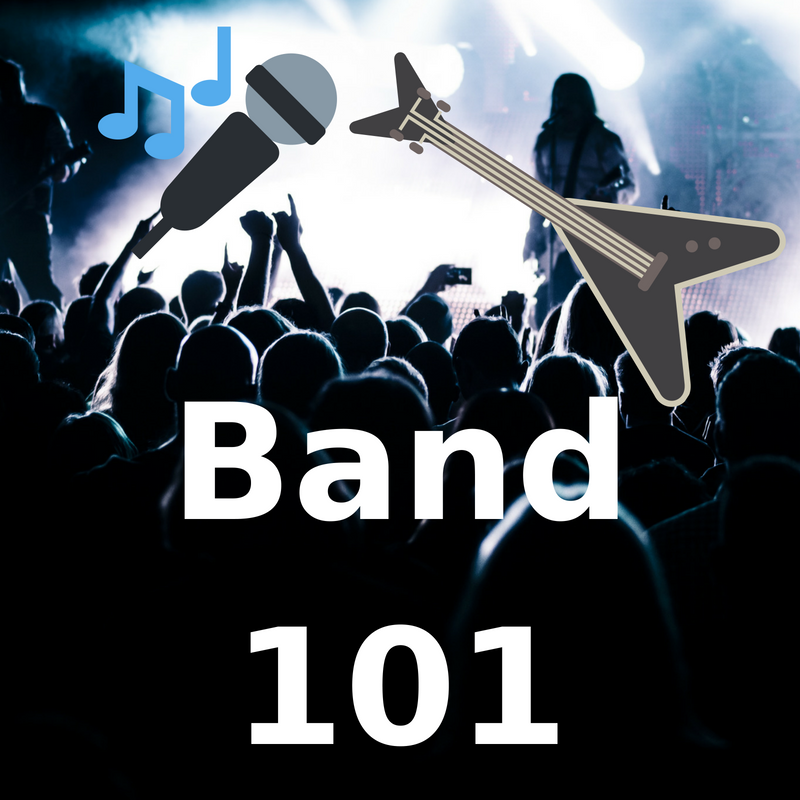 BAND 101 - <font style=&#34;text-transform: capitalize;&#34;>Open for Guitar, Bass and Keys! </font