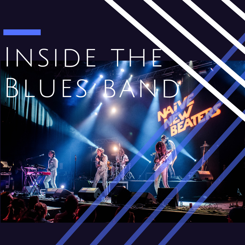 Inside the Blues Band Non-Performance Workshop. Open for Vocals, Guitar, Bass, Drums, Harp, Horn