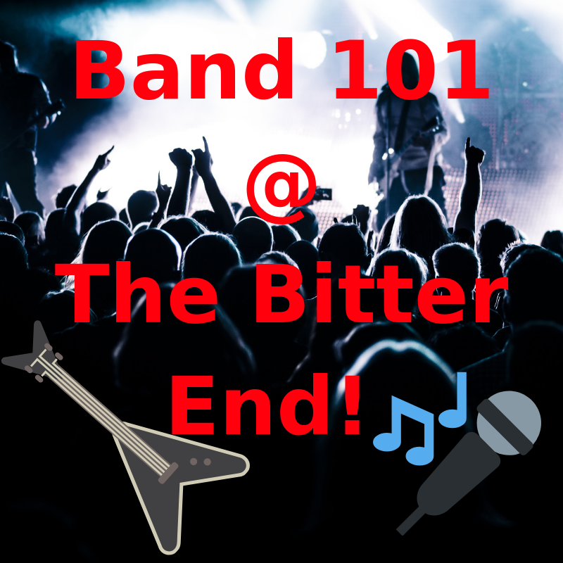 Band 101 To The Stage! - <font style=&#34;text-transform: capitalize;&#34;>Open for Bass, Keys, Harp, Horn <br>